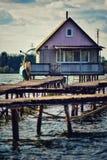 Lakehouse Fotografia Stock