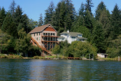 lakehouse Стоковое Изображение