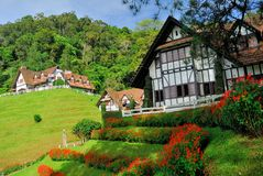 Lakehousen Cameron Highlands Royaltyfria Bilder