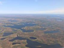 Lakeland en el norte Imagen de archivo libre de regalías