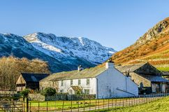 Lakeland Farmhouse Stock Image