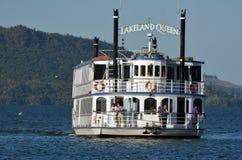 Lakeland Queen cruise -Rotorua New Zealand Royalty Free Stock Photography