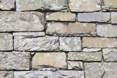 Lakeland slate stone wall texture Stock Image