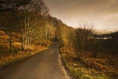 Lakeland-Sonnenuntergang Stockbild