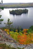 lakelandskap Arkivfoto