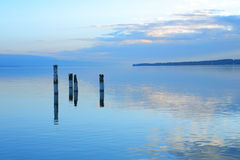 lakelandskap Royaltyfri Foto