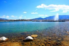 lakelandskap Royaltyfria Bilder