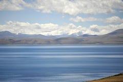 LakeManasarovar Mapam Yumco Fotografía de archivo libre de regalías