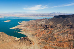 lakemead nevada Royaltyfria Foton