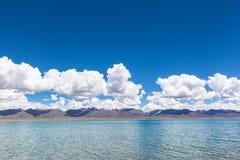 lakenamtso tibet Royaltyfri Foto