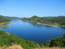 lakenationalpark pristine yosemite arkivbild