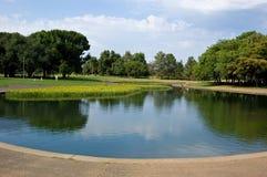 lakepark Royaltyfri Bild