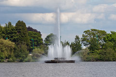 lakepark stanley vancouver Arkivfoton