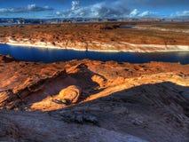 lakepowell Arkivfoton
