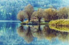 Lakereflexion Royaltyfri Bild