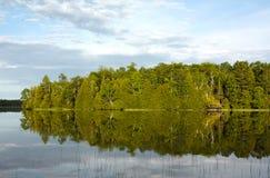 Lakereflexion Royaltyfria Bilder