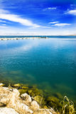 Lakes. This is the Qinghai Lake is China's famous lakes Royalty Free Stock Image