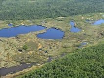 Lakes. Russia. Norh of Siberia. Lakes Stock Photos