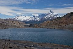 Lakes and Andes from Estancia Cristina Royalty Free Stock Photo