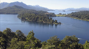 Lakes in bariloche argentina Royalty Free Stock Photography