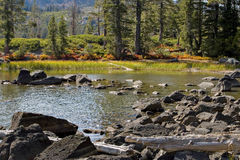 Lakes Basin scenery Stock Photos