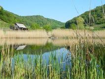 Lakes. Beautiful Lake In Retezat  Mountains Romania Stock Photo