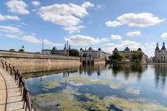 The Lakes, Copenhagen Royalty Free Stock Photo