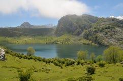 Lakes of Covadonga in Asturias. Royalty Free Stock Image