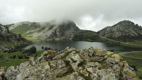 Lakes of Covadonga in Asturias,Spain Stock Photography