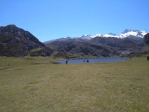 Lakes of Covadonga Spain royalty free stock photo
