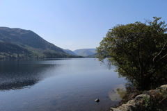 The Lakes at Cumbria. Scenic view of the Lakes at Windermere Cumbria Royalty Free Stock Photo