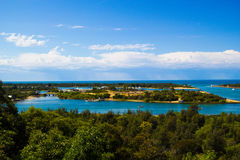 Lakes Entrance. As seen from Kalimna lookout Royalty Free Stock Photography