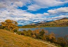 Lakes Hayes. Nice Lakes Hayes, New Zealand Royalty Free Stock Photo