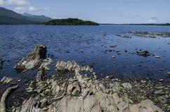 Lakes of killarney, ireland. Rock formation at the lakes of killarney, ireland Royalty Free Stock Photography