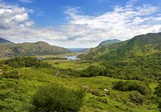 The Lakes of Killarney. As seen from Ladies View. Ring of Kerry Stock Image