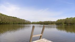 Lakes of Lithuania stock video footage