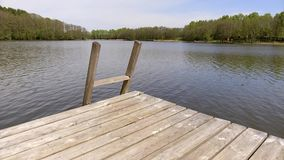 Lakes of Lithuania stock footage