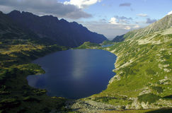 Lakes in mountain Stock Images