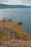 Lakes name Turgoyak Royalty Free Stock Photo