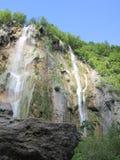 Lakes of the National park Plitvicka Jezera Royalty Free Stock Photography