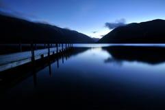 lakes nelson ny np zealand Royaltyfri Bild