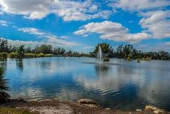 Lakes Park royalty free stock photos