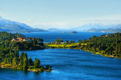 Lakes in Patagonia. Beautiful scenic Lakes in Patagonia, Argentina Royalty Free Stock Photography