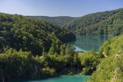 Lakes. Plitvicke Lakes National Park in Croatia Royalty Free Stock Image