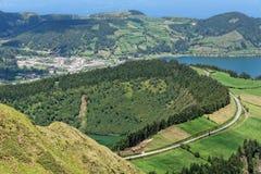Lakes of Santiago and 7 cidades Royalty Free Stock Photography