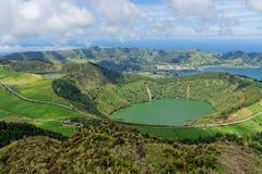 Lakes of Santiago and 7 cidades Royalty Free Stock Photo