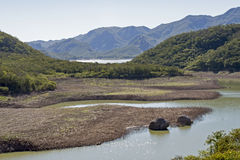 Lakes in the Sierra Madre Occidental. Lakes and streams in the Sierra Madre Occidental near El Fuerte, Sinaloa, Mexico Stock Photo