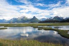 Lakes and streams Stock Image