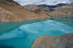 Lakes in  Tibet Royalty Free Stock Photography
