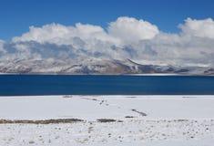 Lakes in  Tibet. DER MANASAROVA SEE in west Tibet Stock Photography